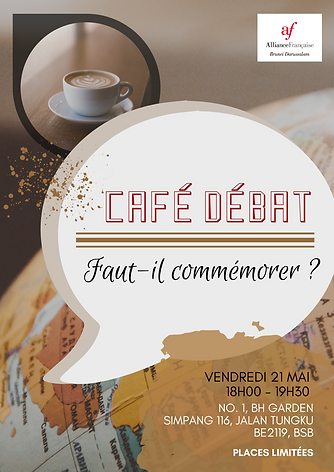 """The theme is """"Faut-il commémorer ?"""""""