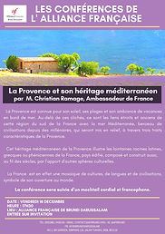 The Provence and its Mediterranean roots by Christian Ramage