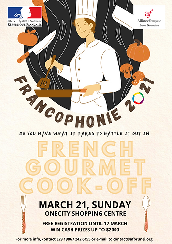 French Gourmet Cook Off_Francophonie2021
