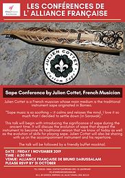 Sape conference by Julien Cottet