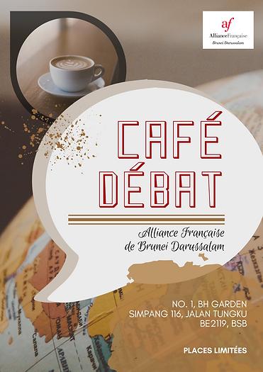 Café Débat Poster