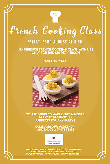 Latest Cooking Class