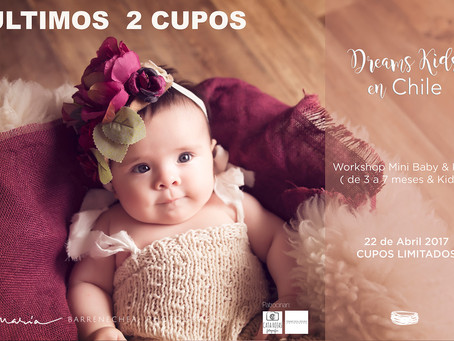 ULTIMOS 2 CUPOS | Workshop Chile | Dreams Kids