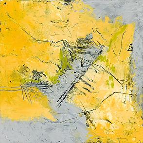 Diane wax yellow grey # 3 Size 12 X 12 M