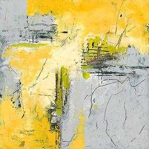 Diane wax yellow grey #4 Size 12 X 12 MF