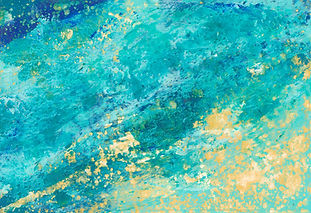 Diane Lewis Oil and Wax Sweeping Wave II