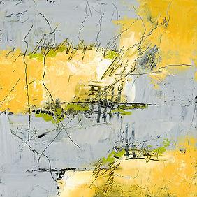 Diane wax yellow grey #1  12 X 12 MF FIN