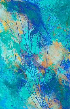 Diane Lewis Oil and Wax  Undersea Garden