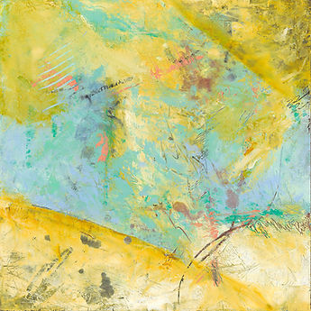 Diane lewis Oil and wax yellow and tesl