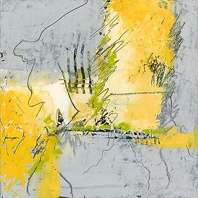 Diane wax yellow grey #2 Size 12 X 12 MF