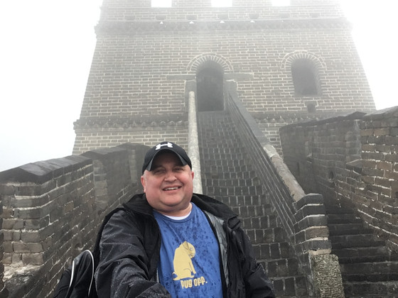 PugWare went to the Great Wall of China!