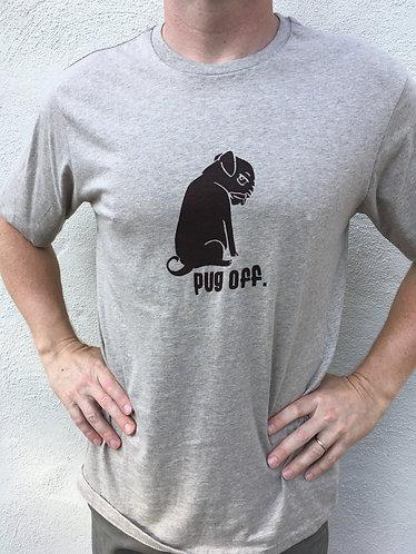 Pug Off Grey T