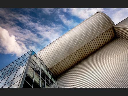 C Industrial Building roof detail Freema