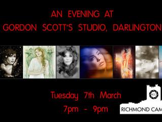 7th March - A Visit to Gordon Scott's Studio in Darlington