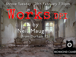 """28th Feb - """"Works DPI"""" - with Neil Maughan from Durham PS"""