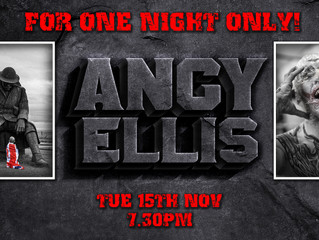 15th Nov - An Evening with Angy Ellis from Durham PS