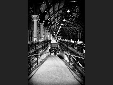 Almost deserted-darlington station Andre