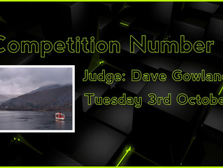3rd October - Competition 1