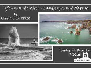 "5 December - ""Of Seas and Skies"" - Chris Morton DPAGB"