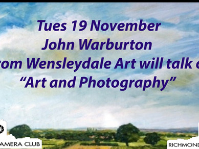 19 Nov Art and Photography