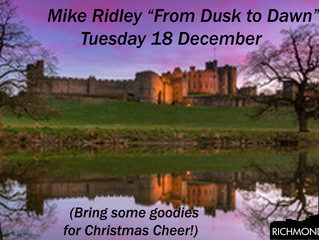 """""""From Dusk to Dawn"""" with Mike Ridley"""