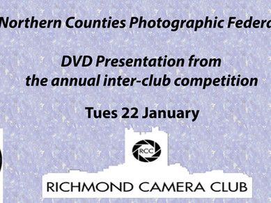 Presentation of images from the NCPF inter-club competition