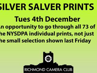 Silver Salver Print Night