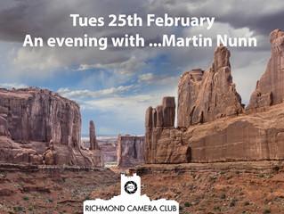 An evening with...Martin Nunn