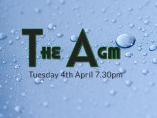 4th April - The AGM