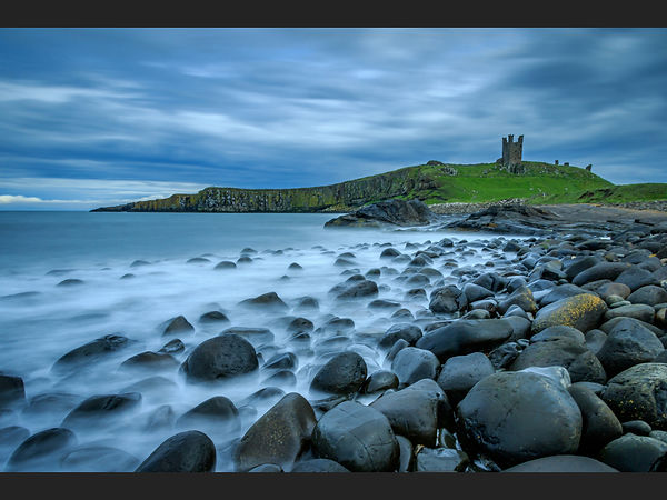 90 High Tide at Dunstanburgh - Copy.JPG