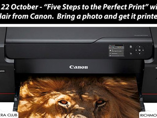 22 October - Five Steps to the Perfect Print
