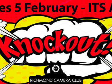 Knockout competition on 5 Feb