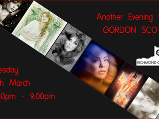 14th March - Another Evening with Gordon Scott
