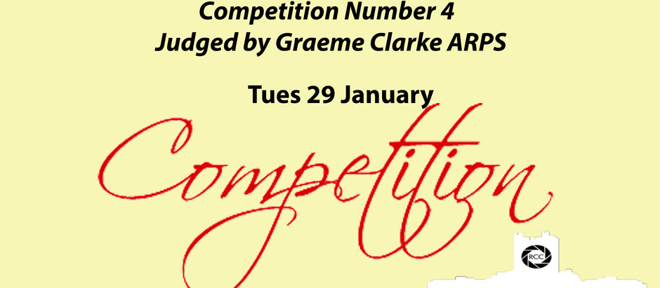 Competition Night on 29th January