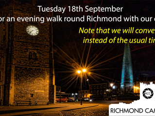 The next meeting on 18 Sept will be something a little different
