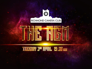 3rd April - The Annual General Meeting