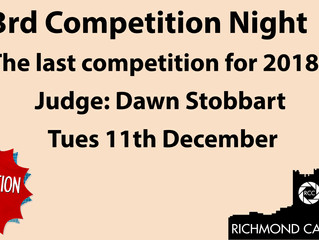 Competition Night!