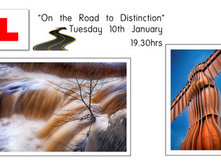 10 Jan - On the Road to Distinction