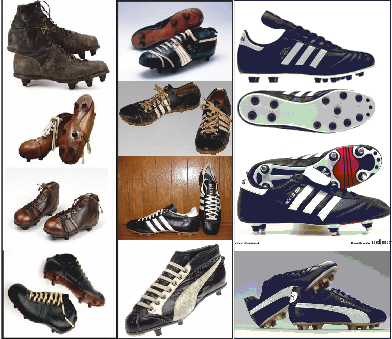 La evolución de las botas de fútbol  ba165953be776