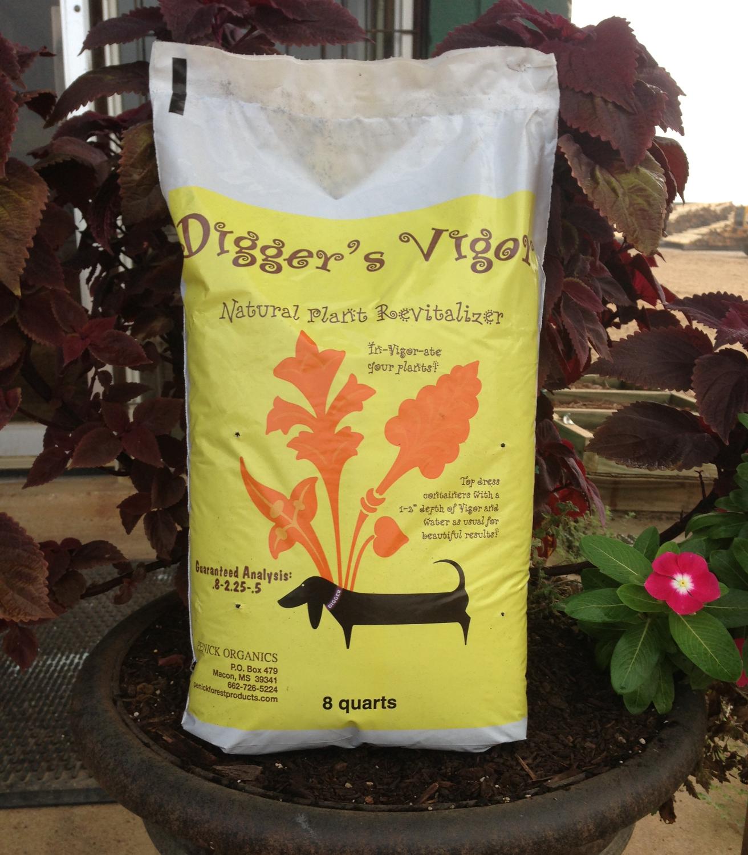 Vigor in the 8 qt. yellow bag