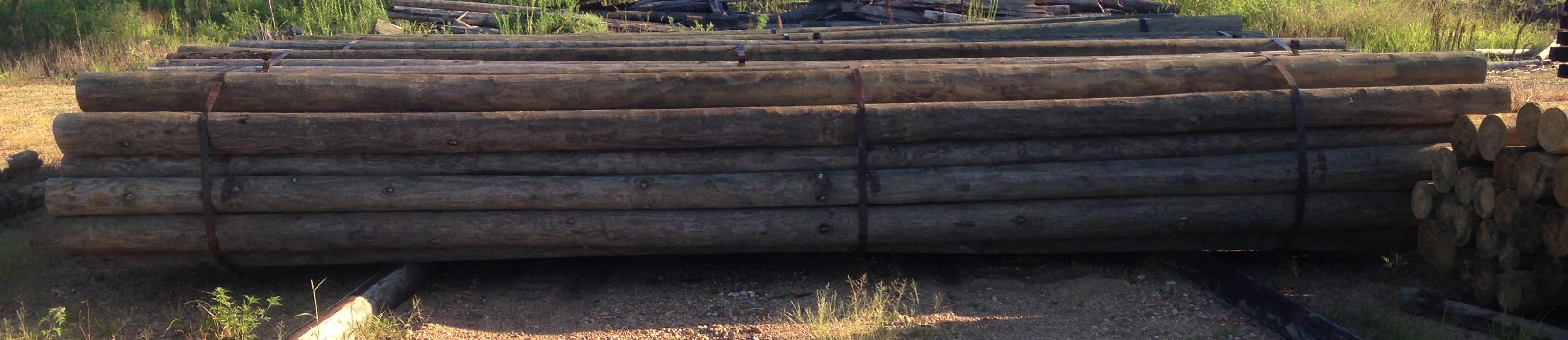 CCA 6x20 Barn Poles