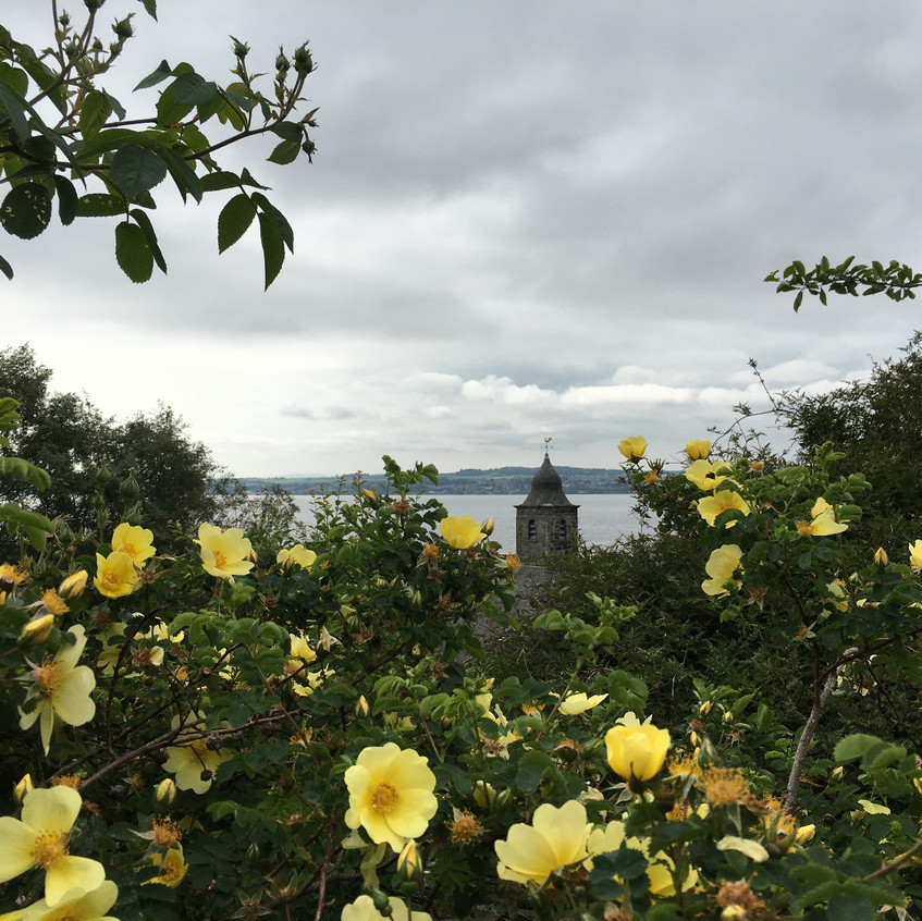 Picture from the gardens at Culross Palace.