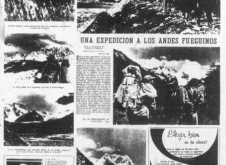 Primera expedición latinoamericana a la Cordillera Darwin