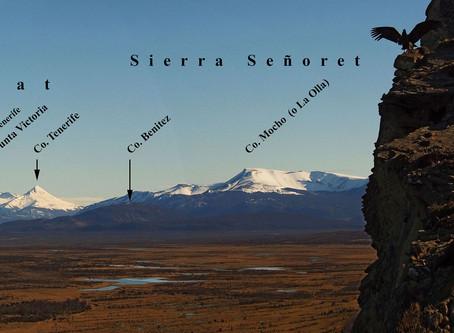 Montañas de Puerto Natales