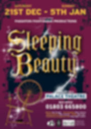 Sleeping Beauty PPP 2019 A4 Poster  Fina