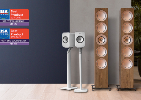 3 x EISA pro produkty z portfolia Perfect Sound Group