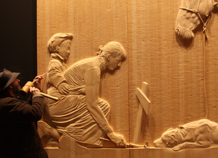 Woodcarving in Tasmania
