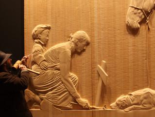 Woodcarving in Tasmania