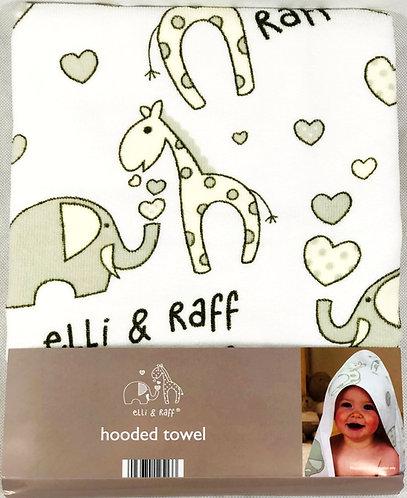 Hooded Towel - Ellie & Raff