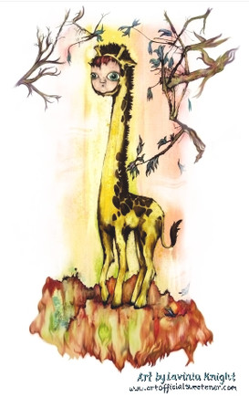 doll faced giraffe